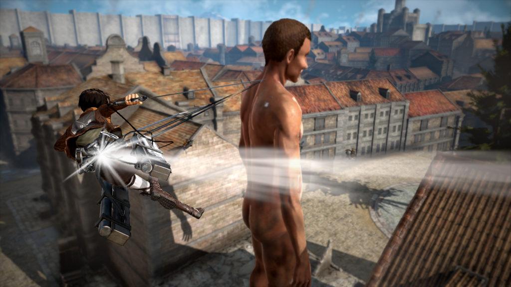 Attack on Titan2 : fendre les airs est exaltant !