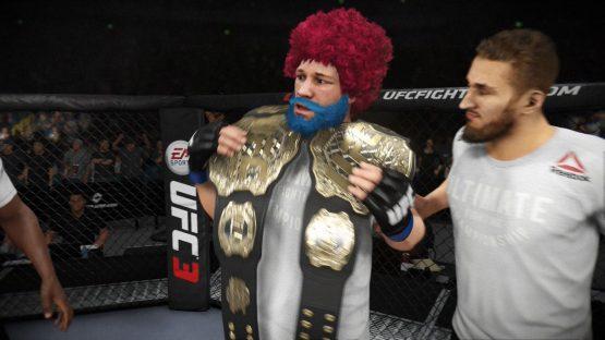 EA Sports UFC 3 : looking good