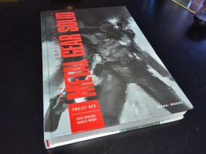 Metal Gear Solid Projet Rex cover comics