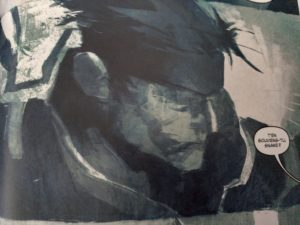 Metal Gear Solid Projet Rex Snake Face