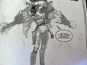 Metal Gear Solid Projet Rex woman