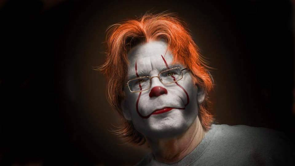 Stephen King Clown It