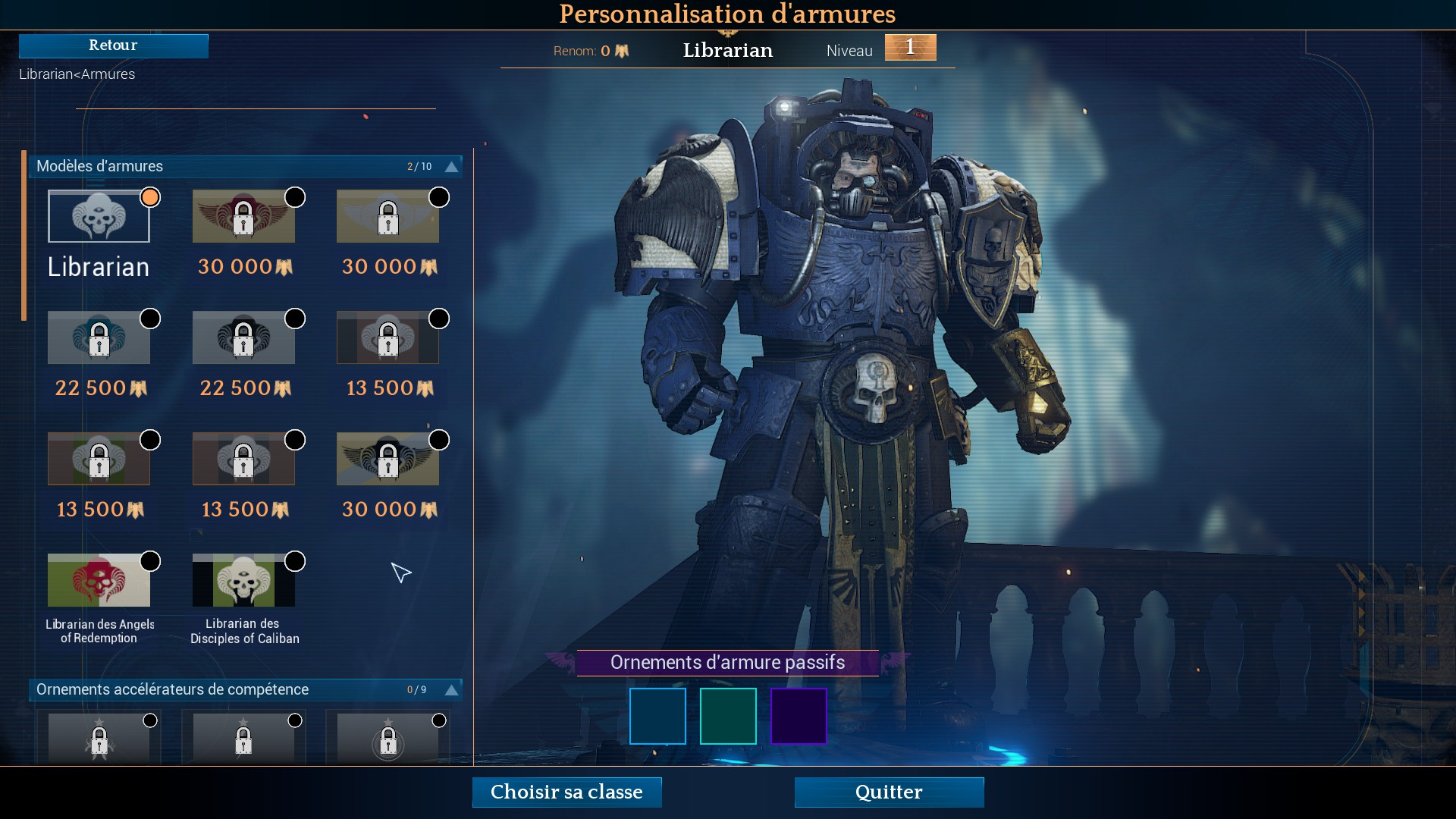 Space Hulk : Deathwing customisation