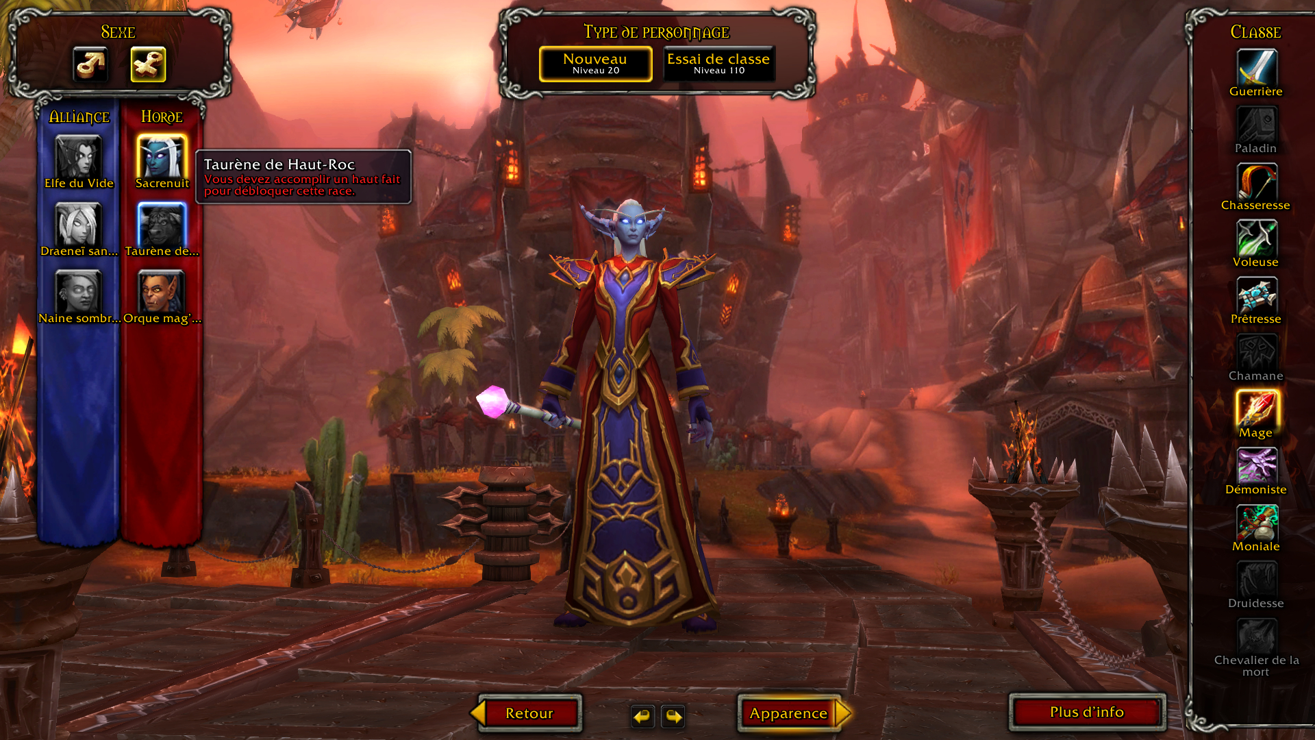 World of Warcraft : Battle for Azeroth character
