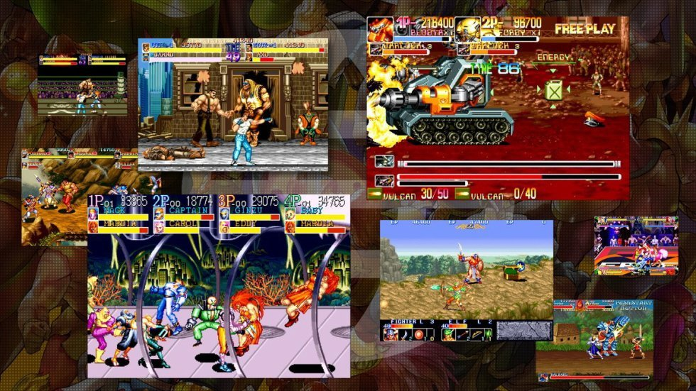 Capcom Beat 'Em Up Bundle all games